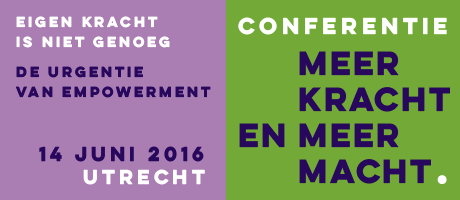 Conferentie Meer kracht en meer macht