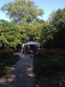 tent column