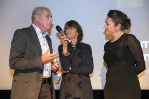 Bert Keizer, Pauline Meurs (voorzitter Raad voor Volksgezondheid en Samenleving) en Andrea Maier