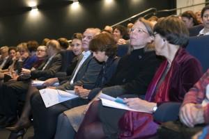 Het publiek (met onder andere de dochter van Els Borst Andra Neefjes Borst).
